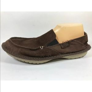 Crocs Crocadise Leather Loafers 10